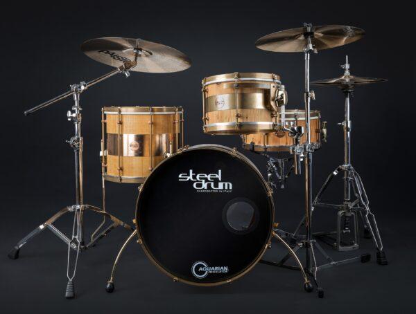 """Steeldrum drumset """"hybrid"""""""