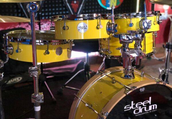 Steeldrum – Flat drum kit